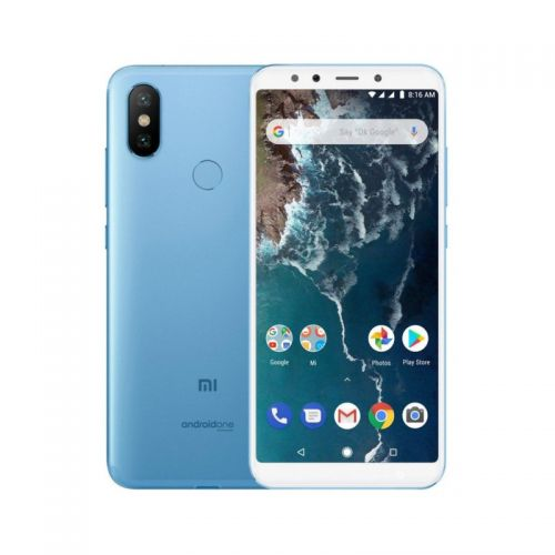 купить Xiaomi Mi A2 4/32Gb Blue Европейская версия EU GLOBAL по низкой цене 5468.00грн Украина дешевле чем в Китае