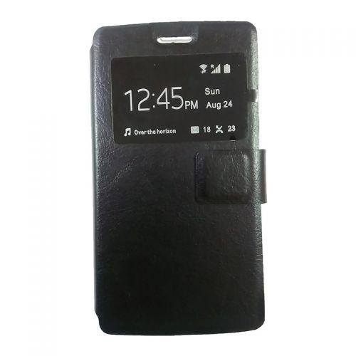 купить Чехол-книжка Lenovo A1000/A2800 black Window по низкой цене 165.00грн Украина дешевле чем в Китае