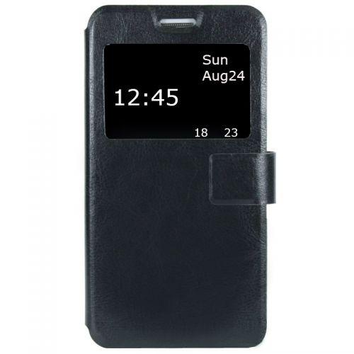 купить Чехол-книжка Lenovo A5000 black Window по низкой цене 199.00грн Украина дешевле чем в Китае