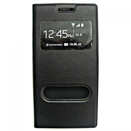 купить Чехол-книжка Lenovo A6000/A6010/K30 black Window по низкой цене 195.00грн Украина дешевле чем в Китае
