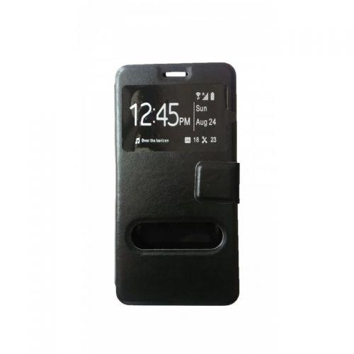 купить Чехол-книжка Lenovo A6000/A6010/K30 black Window по низкой цене 179.00грн Украина дешевле чем в Китае