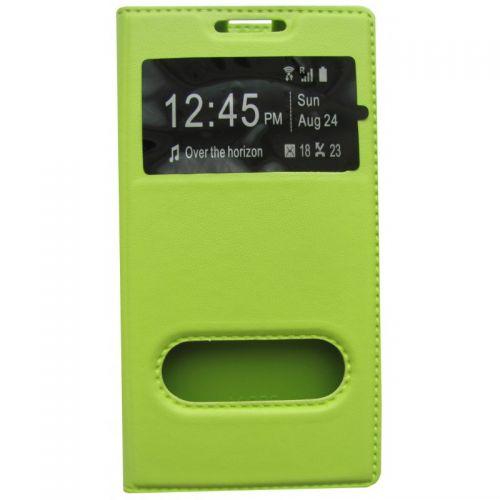 купить Чехол-книжка Lenovo A6000/A6010/K30 green Window по низкой цене 195.00грн Украина дешевле чем в Китае