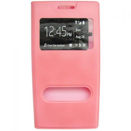 купить Чехол-книжка Lenovo A6000/A6010/K30 pink Window по низкой цене 195.00грн Украина дешевле чем в Китае