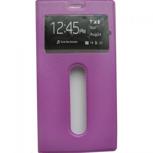 купить Чехол-книжка Lenovo A7000/K50 violet Window по низкой цене 195.00грн Украина дешевле чем в Китае