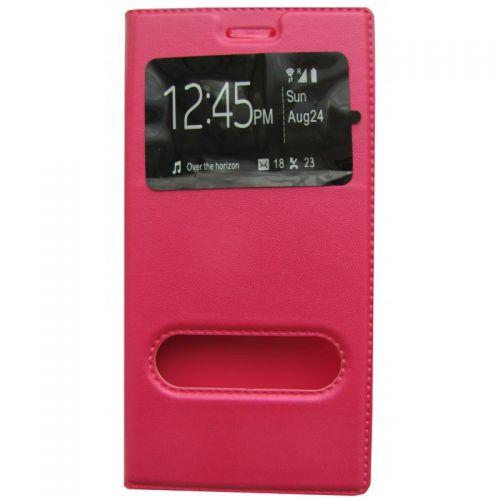 купить Чехол-книжка Lenovo VIBE P1m pink Window по низкой цене 195.00грн Украина дешевле чем в Китае