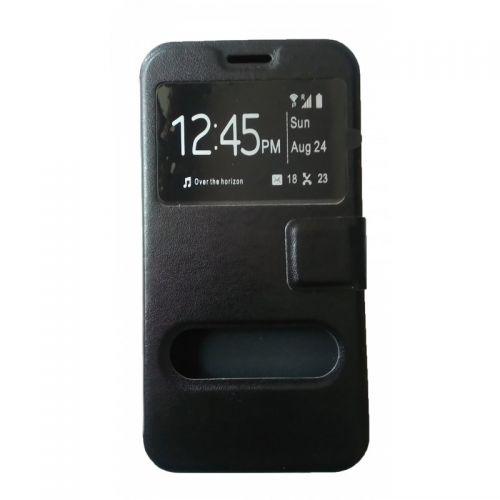 купить Чехол-книжка Meizu M2 (mini) black Window по низкой цене 179.00грн Украина дешевле чем в Китае