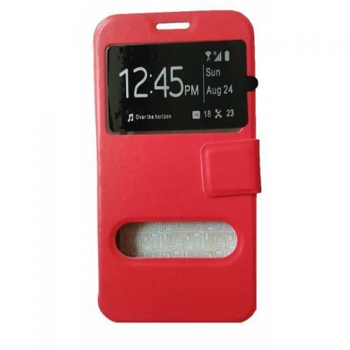 купить Чехол-книжка Meizu M2 (mini) red Window по низкой цене 179.00грн Украина дешевле чем в Китае