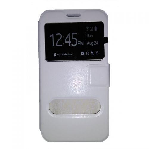 купить Чехол-книжка Meizu M2 (mini) white Window по низкой цене 179.00грн Украина дешевле чем в Китае