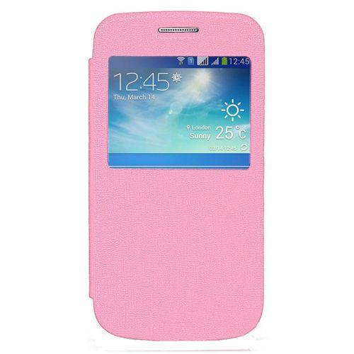 купить Чехол-книжка SA G360/G361 pink Window по низкой цене 189.00грн Украина дешевле чем в Китае