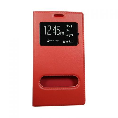 купить Чехол-книжка SA J120 red Window по низкой цене 175.00грн Украина дешевле чем в Китае