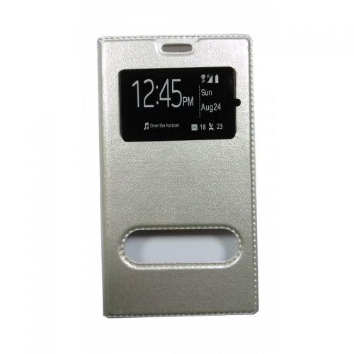 купить Чехол-книжка SA J120 silver Window по низкой цене 175.00грн Украина дешевле чем в Китае