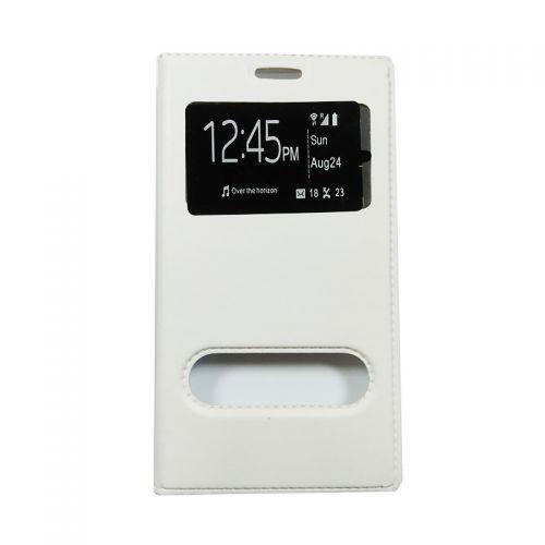 купить Чехол-книжка SA J120 white Window по низкой цене 175.00грн Украина дешевле чем в Китае