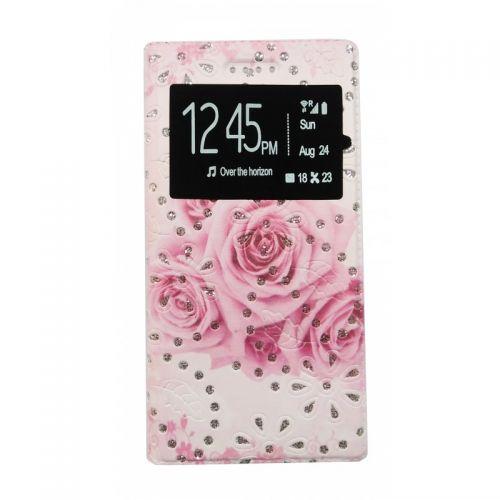 купить Чехол-книжка универсальный 5.0 Rose pink Window по низкой цене 175.00грн Украина дешевле чем в Китае