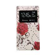 """Чехол-книжка универсальный 5.0"""" Rose ruby Window"""