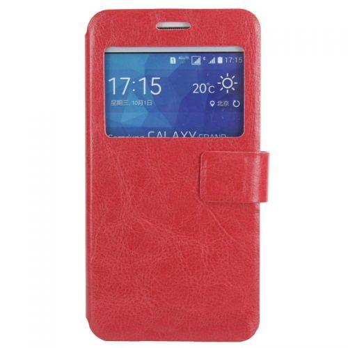 купить Чехол-книжка Window для Samsung J7/J700 red по низкой цене 199.00грн Украина дешевле чем в Китае