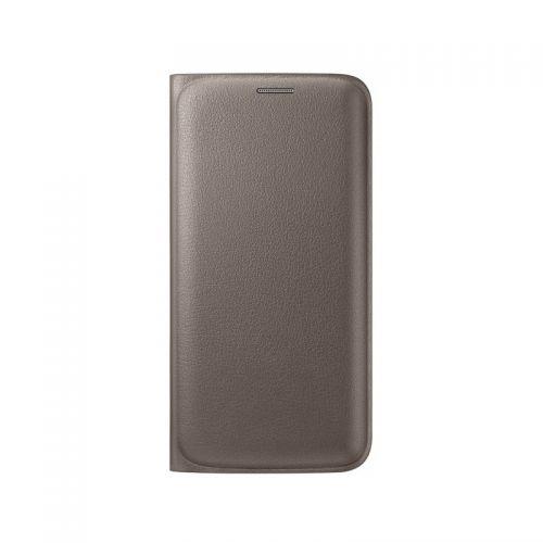 купить Чехол-книжка Zero S6 EF-WG920PFEGRU Gold кожа по низкой цене 749.00грн Украина дешевле чем в Китае