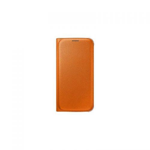 купить Чехол-книжка Zero S6 EF-WG920POEGRU Orange кожа по низкой цене 749.00грн Украина дешевле чем в Китае