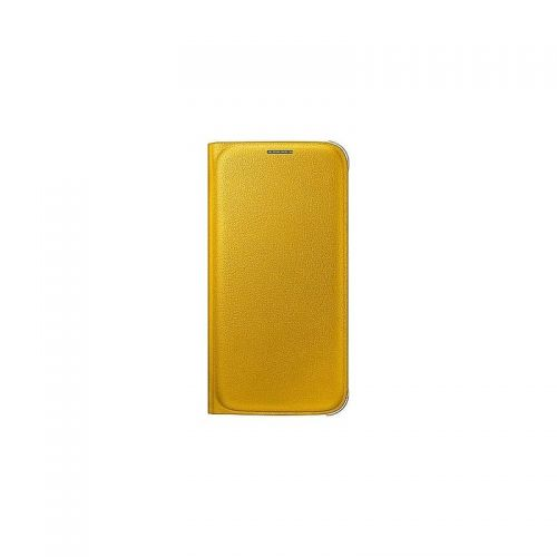 купить Чехол-книжка Zero S6 EF-WG920PYEGRU Yellow кожа по низкой цене 749.00грн Украина дешевле чем в Китае