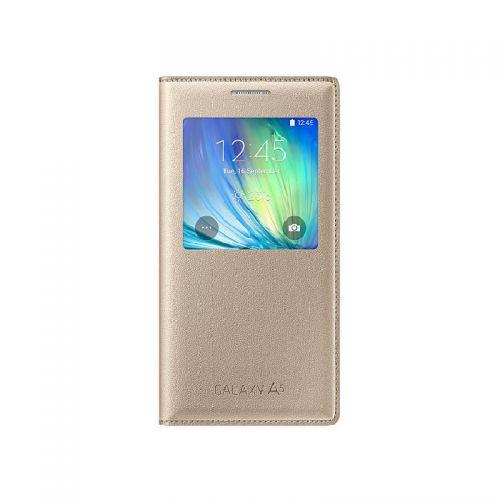 купить Чехол S View A5 EF-CA500BFEGRU Gold по низкой цене 1049.00грн Украина дешевле чем в Китае