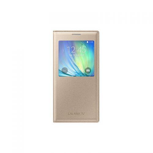 купить Чехол S View A7 EF-CA700BFEGRU Gold по низкой цене 1049.00грн Украина дешевле чем в Китае