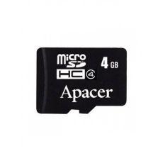 купить Карта памяти Apacer microSDHC 4Gb class 4 по низкой цене 89.00грн Украина дешевле чем в Китае