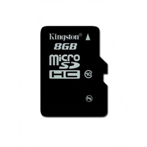 купить Карта памяти Kingston microSDHC 8Gb 10class по низкой цене 129.00грн Украина дешевле чем в Китае