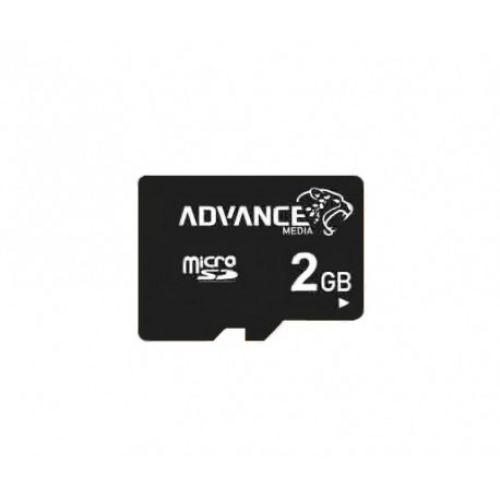 купить Карта памяти Micro SD 2Gb/6class Advance по низкой цене 79.00грн Украина дешевле чем в Китае