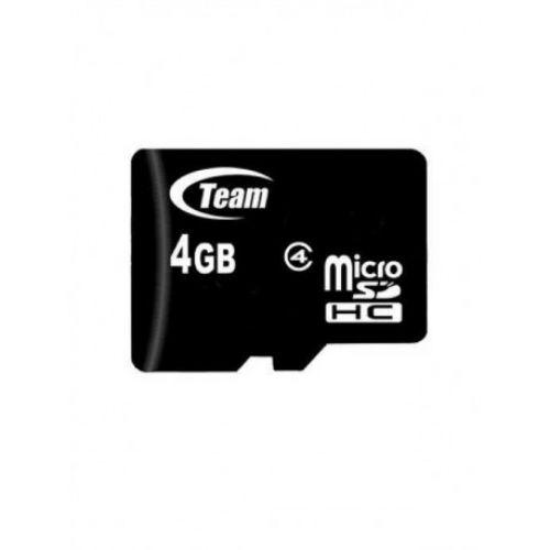купить Карта памяти Team microSDHC 4GB Class 4 по низкой цене 89.00грн Украина дешевле чем в Китае