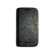 купить Кожаный чехол-книжка Lenovo A208/A218/A269 black по низкой цене 150.00грн Украина дешевле чем в Китае