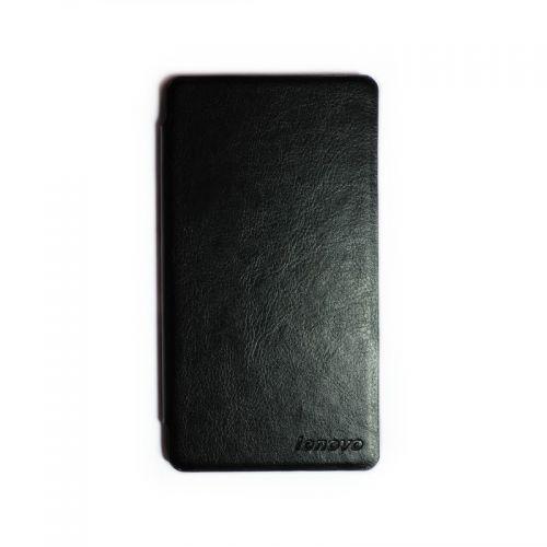 купить Кожаный чехол-книжка Lenovo A358t/A536 black по низкой цене 179.00грн Украина дешевле чем в Китае