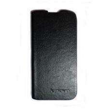 купить Кожаный чехол-книжка Lenovo A590 black по низкой цене 169.00грн Украина дешевле чем в Китае