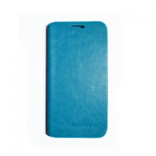 купить Кожаный чехол-книжка Lenovo A670 blue по низкой цене 169.00грн Украина дешевле чем в Китае