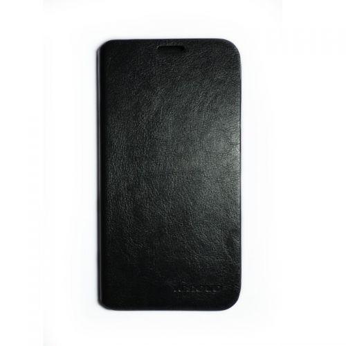 купить Кожаный чехол-книжка Lenovo A8/808 black по низкой цене 189.00грн Украина дешевле чем в Китае