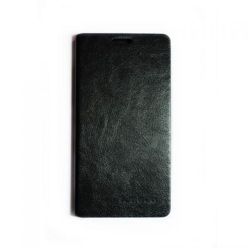 купить Кожаный чехол-книжка Lenovo A850+ black по низкой цене 189.00грн Украина дешевле чем в Китае