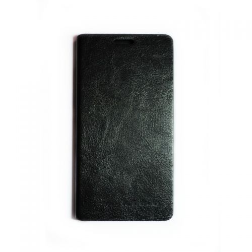 купить Кожаный чехол-книжка Lenovo К920 black по низкой цене 239.00грн Украина дешевле чем в Китае