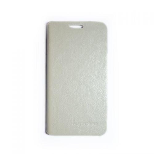 купить Кожаный чехол-книжка Lenovo S660/668 white по низкой цене 179.00грн Украина дешевле чем в Китае