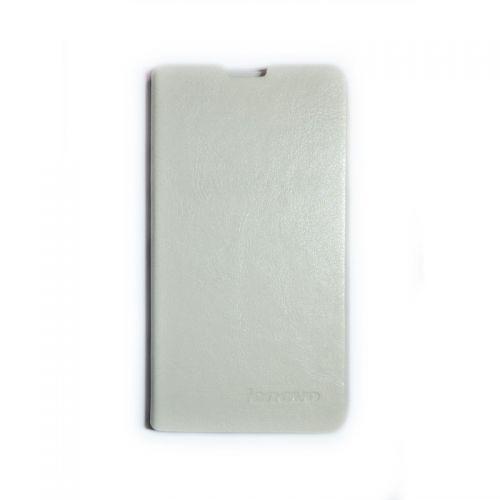 купить Кожаный чехол-книжка Lenovo S898/S8 white по низкой цене 195.00грн Украина дешевле чем в Китае