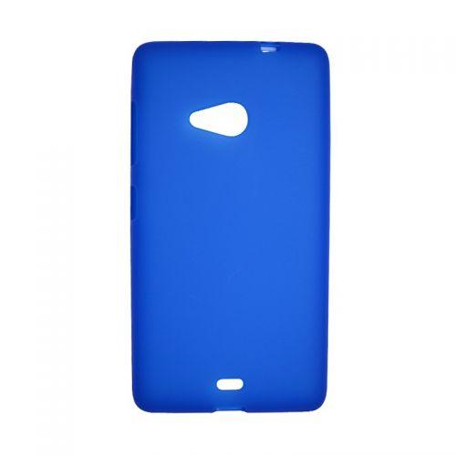 купить Накладка силиконовая Nokia Microsoft 535 blue по низкой цене 125.00грн Украина дешевле чем в Китае