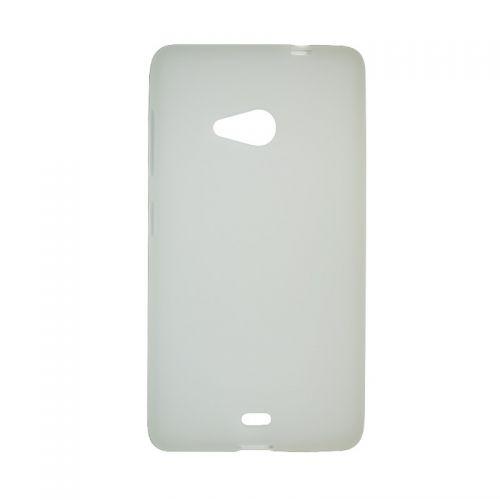 купить Накладка силиконовая Nokia Microsoft 535 white по низкой цене 125.00грн Украина дешевле чем в Китае