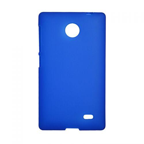 купить Накладка силиконовая Nokia X blue по низкой цене 139.00грн Украина дешевле чем в Китае