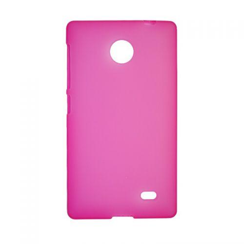 купить Накладка силиконовая Nokia X pink по низкой цене 139.00грн Украина дешевле чем в Китае