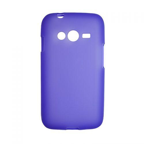 купить Накладка силиконовая Samsung G313 violet по низкой цене 99.00грн Украина дешевле чем в Китае