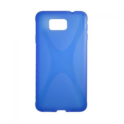 купить Накладка силиконовая Samsung G850 Alfa New line blue по низкой цене 159.00грн Украина дешевле чем в Китае