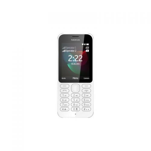 купить Nokia 222 Dual Sim (White) UA-UСRF Оф. гарантия 12 мес! по низкой цене 859.00грн Украина дешевле чем в Китае