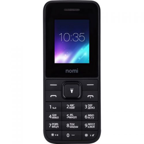 купить Nomi i182 Black UA-UСRF Официальная гарантия 12 мес! по низкой цене 399.00грн Украина дешевле чем в Китае