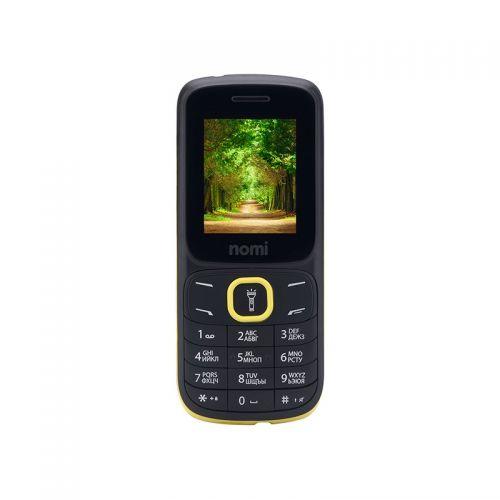 купить Nomi i183 black-yellow UA-UСRF Оф. гарантия 12 мес! по низкой цене 299.00грн Украина дешевле чем в Китае