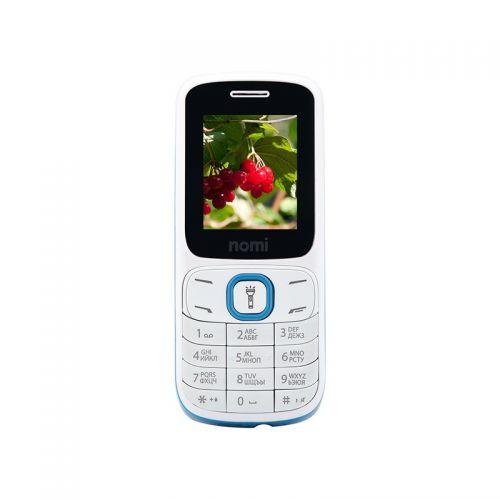 купить Nomi i183 white-blue UA-UСRF Оф. гарантия 12 мес! по низкой цене 299.00грн Украина дешевле чем в Китае